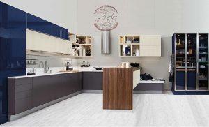 مدل آشپرخانه با MDF