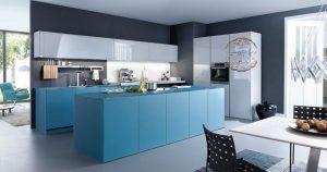 مدل آشپرخانه با های گلس